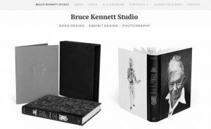 Bruce Kennett Studio website