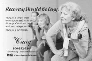 Ad copywriting Craig Senior Living