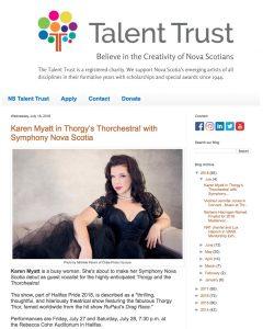 Nova Scotia Talent Trust