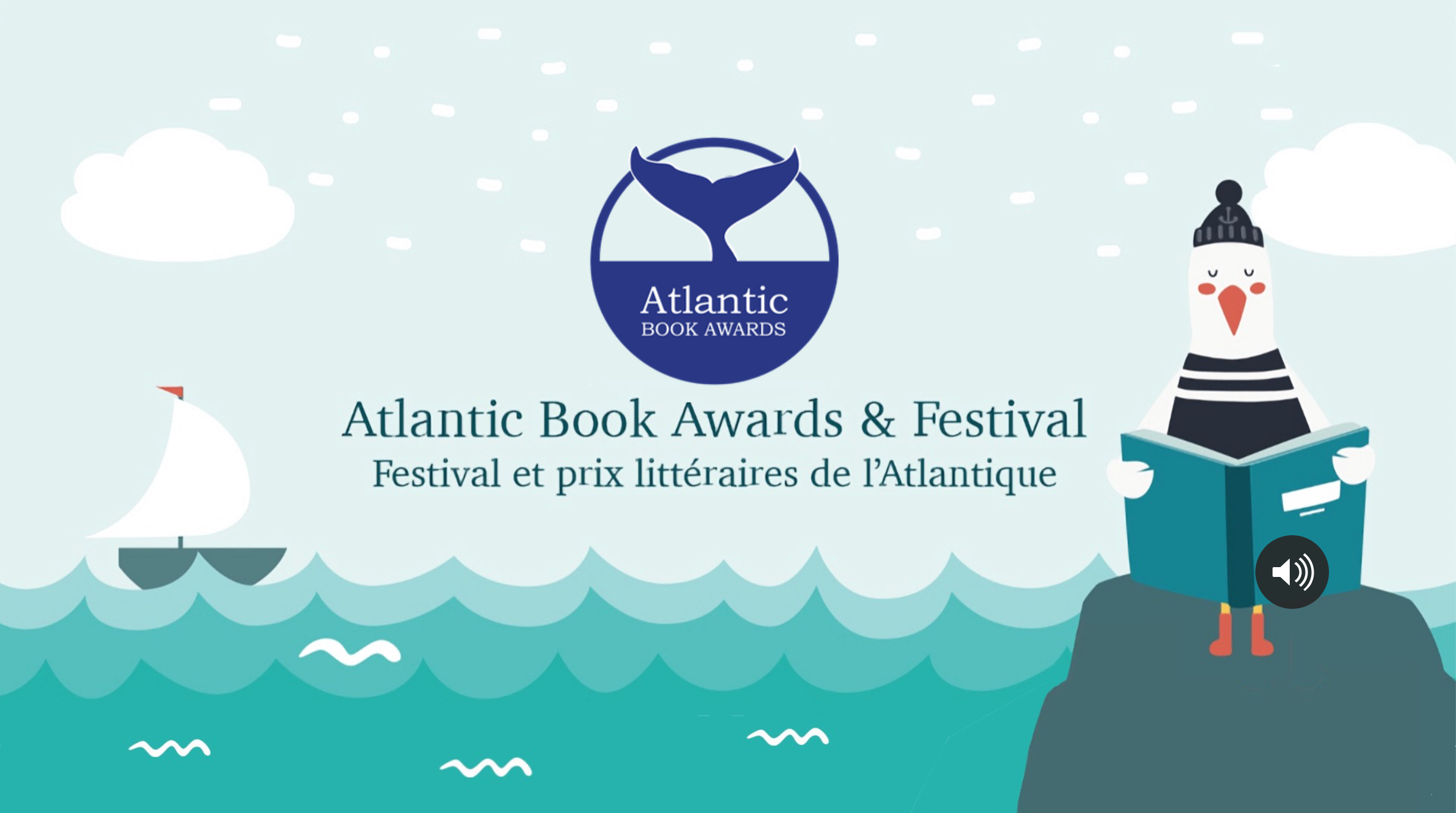 Atlantic Book Awards online gala.